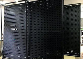 6mm ISO9001 Perforated Steel Sheet For Facade Wall